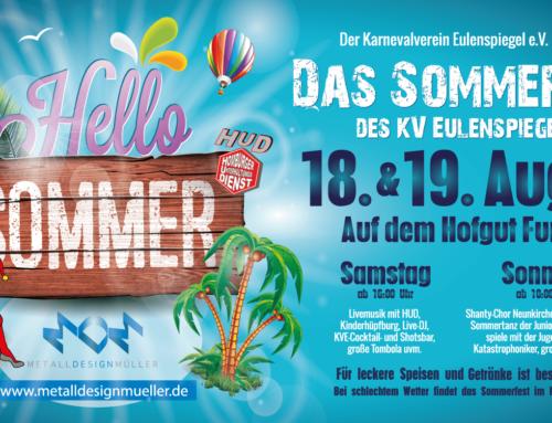 Das Sommerfest des KV Eulenspiegel – 2018 in Furpach