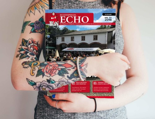 """Mitgliedermagazin """"ECHO"""" Nr. 1"""
