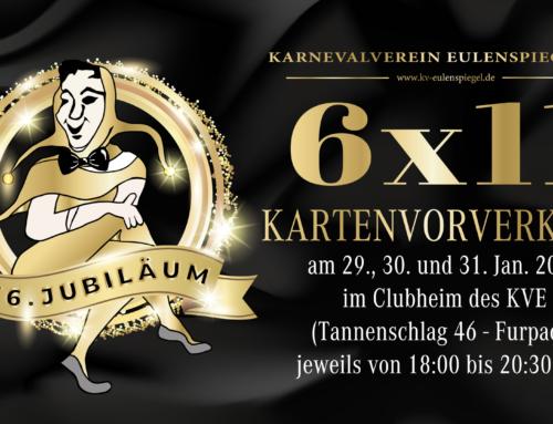 6×11: Der KVE feiert Jubiläum