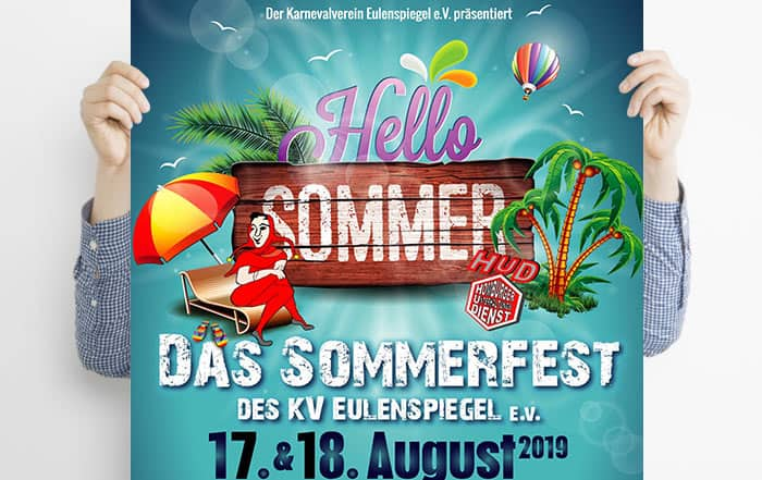 Karnevalverein Eulenspiegel sommerfest 2019