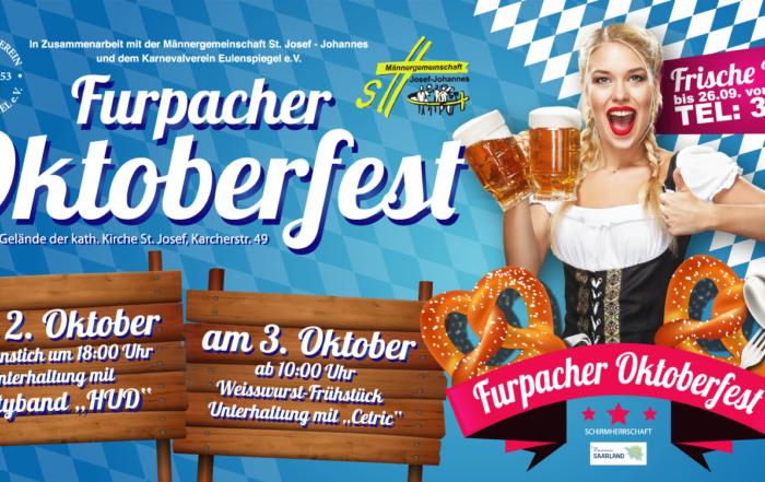 Karnevalverein Eulenspiegel Oktoberfest 2019 Bauzaun