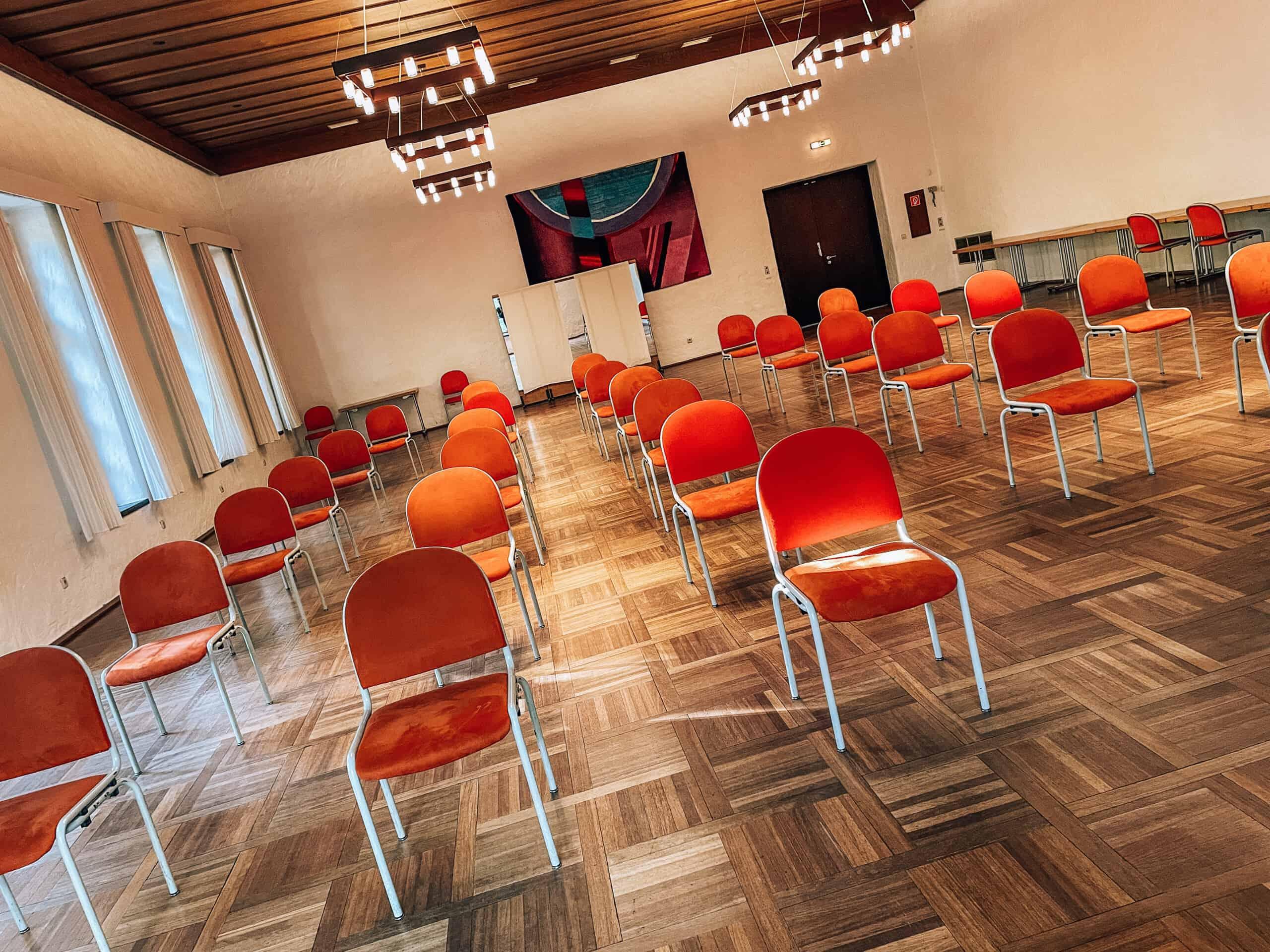 Generalversammlung im Karchersaal